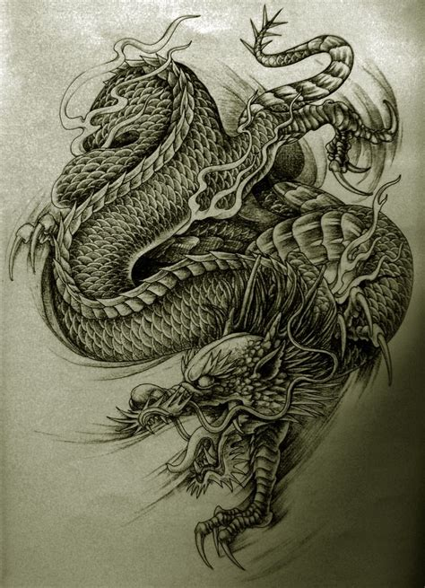chinese dragon tattoo design 8 best drachen tattoos images on kite