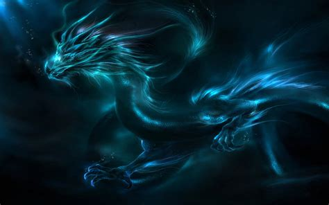 wallpaper blue fantasy blue fantasy dragon wallpaper background 26700