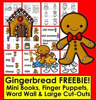 the gingerbread man printable finger puppets 767 best images about gingerbread theme on pinterest