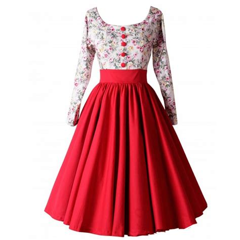 Swing Stil Kleidung by 50er 60er Jahre Rockabilly Kleid Vintage Stil Swing Pin Up