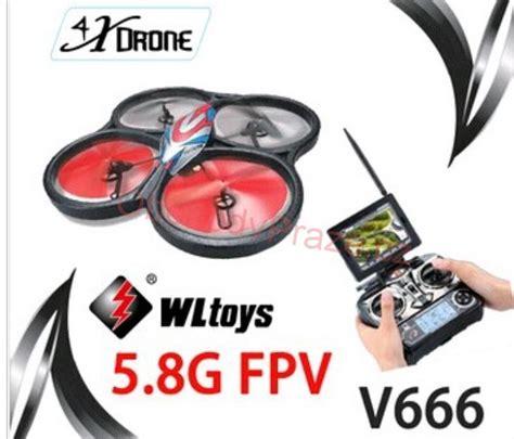 Drone Wl V666 rc modely wl toys dron v666 5 8ghz fpv obchodvpraze cz