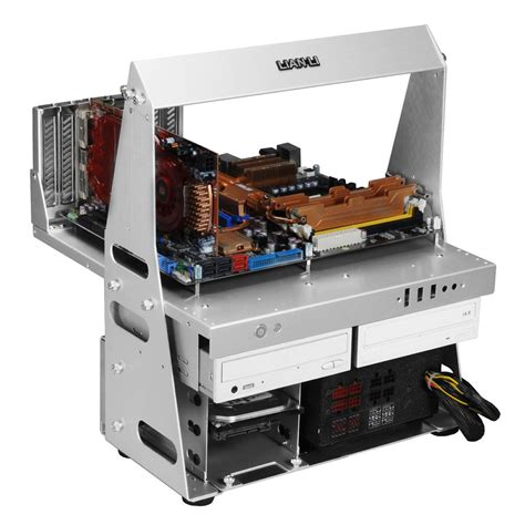 lian li pc t60b test bench lian li pitstop diy test bench technical review