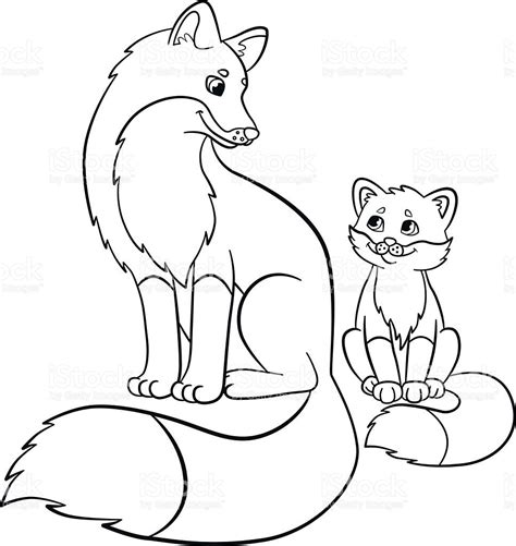 fox coloring pages  adults  getcoloringscom