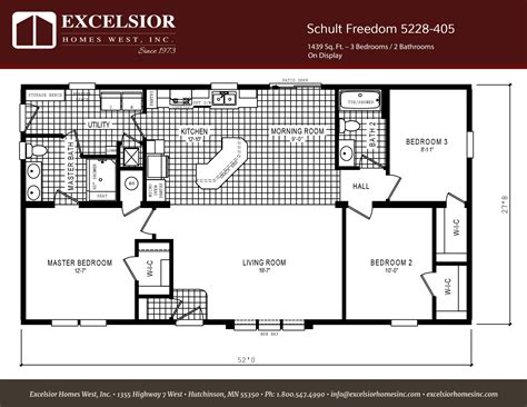 freedom mobile home floor plans