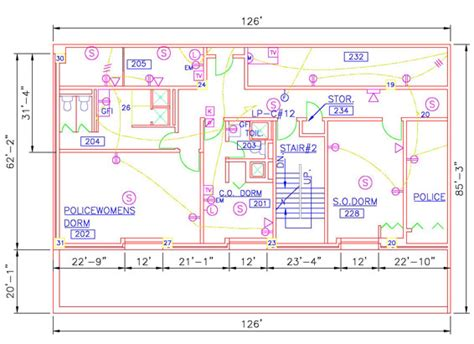 electrical layout plan in autocad convert house plans vector joy studio design gallery
