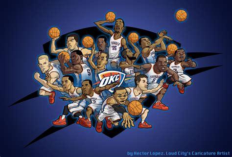 wallpaper cartoon basketball oklahoma city thunder basketball nba r wallpaper