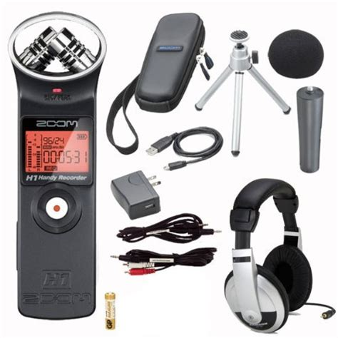 Dijual Zoom H1 Zoom Aph 1 Accessory Pack Px 49e Harga Bersahabat zoom h1 digital recorder bundle with zoom aph 1 accessory