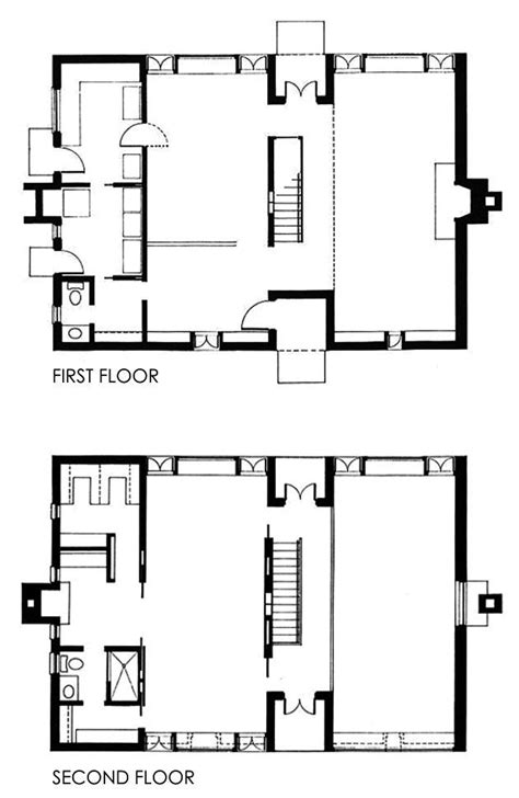 louis kahn floor plans esherick house philadelphia 1959 1961 louis kahn
