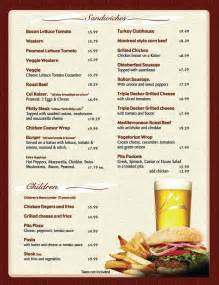 Free Menu Templates by 8 Menu Templates Excel Pdf Formats