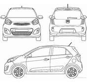 The Blueprintscom  Blueprints &gt Cars Kia Picanto