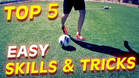 tutorial skill football easy top 5 easy football skills tricks to learn for beginners