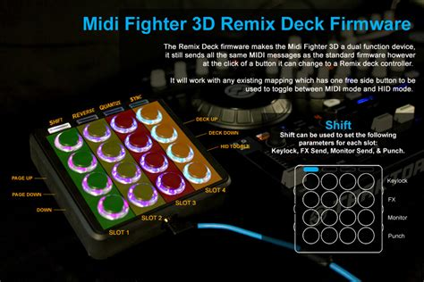 Alat Dj Remix alat dj pad controller djtechtools midi fighter 3d legato center jakarta indonesia