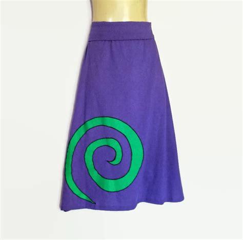 Mackandphil Aline Green Size 23 sizes 8 to 10 avail retro purple stretch a line