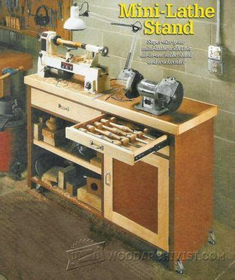 wood lathe bench plans mini lathe bench plans lathe tips jigs and fixtures