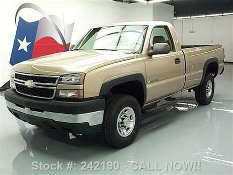 how to sell used cars 2006 chevrolet silverado 3500 engine control sell used 2006 chevy silverado 2500 hd w t reg cab longbed 62k mi texas direct auto in stafford