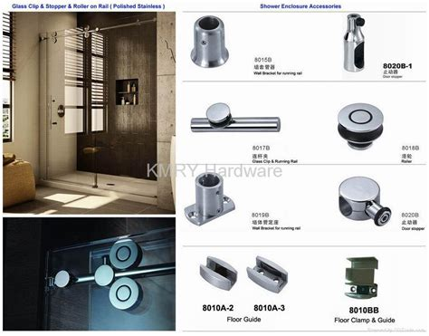 Stainless Steel Hardware For Shower Door 8018 Kmry Shower Door Accessories