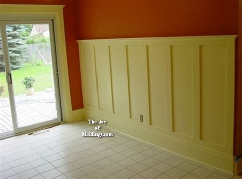 Installing Kitchen Cabinet Crown Molding by Wainscoting 100 Craftsman Style After2 The Joy Of Moldings Com