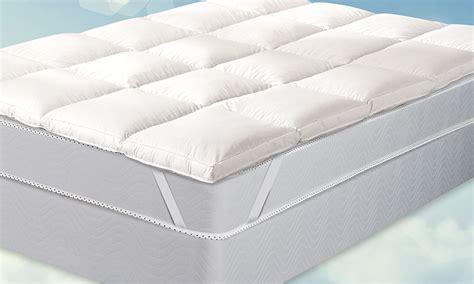 duck feather mattress topper groupon goods