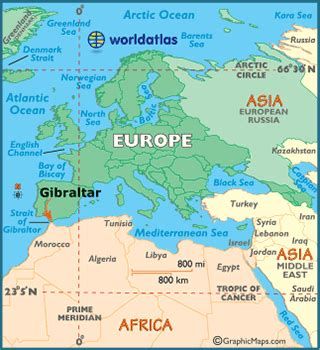 world map gibraltar why is the strait of gibraltar considered a strategic area