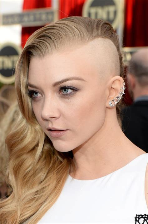 natalie dormer hair undercut strayhair