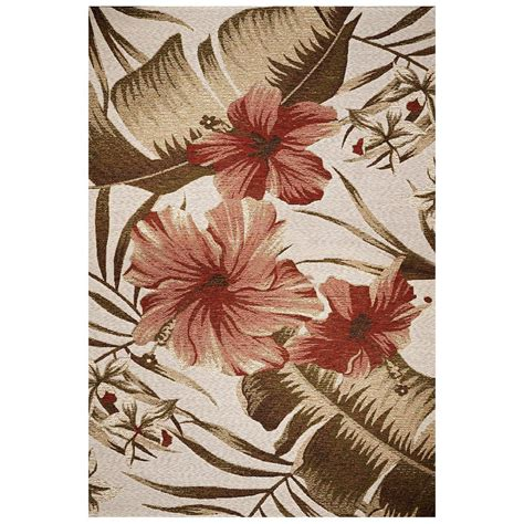 hibiscus rug kas rugs hibiscus ivory 8 ft 1 in x 11 ft 2 in area rug hor571081x112 the home depot