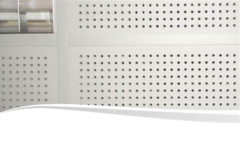 Perforated Plasterboard Ceiling 13mm perforated plasterboard panels