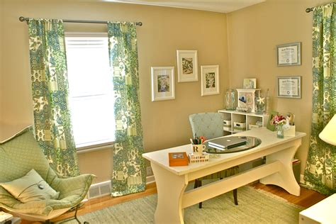 home office makeover quot beachy quot clean home office makeover sayeh pezeshki la