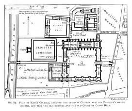 Pratt Homes Floor Plans file historical plan of king s college cambridge