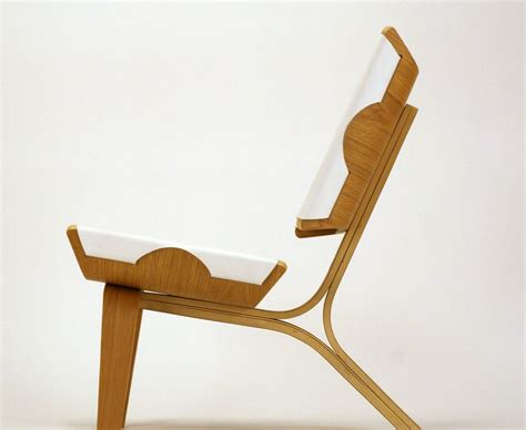 chair design aesthetically brilliant chair made of bent plywood and