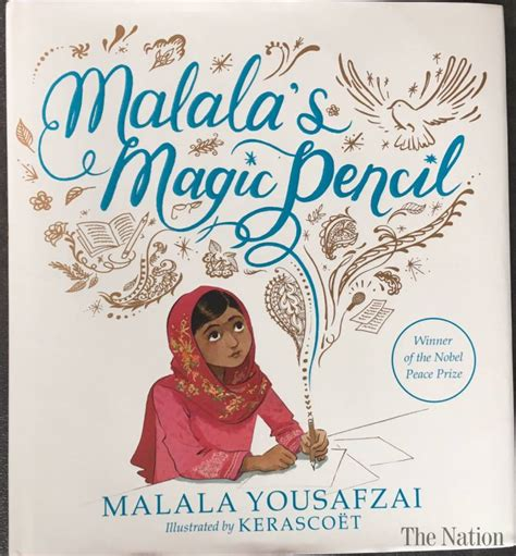 magic pencil childrens book malala s magic pencil twitter gets first glimpse of the picture book