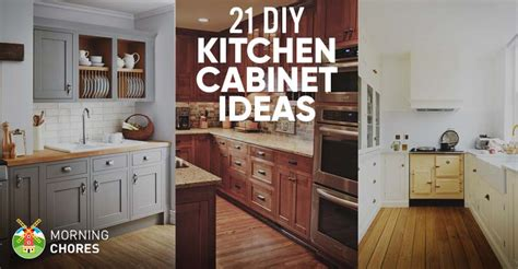 diy ideas for kitchen 21 diy kitchen cabinets ideas plans that are easy
