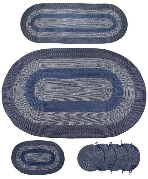 braided rug sets 7pc braided rug set domestify