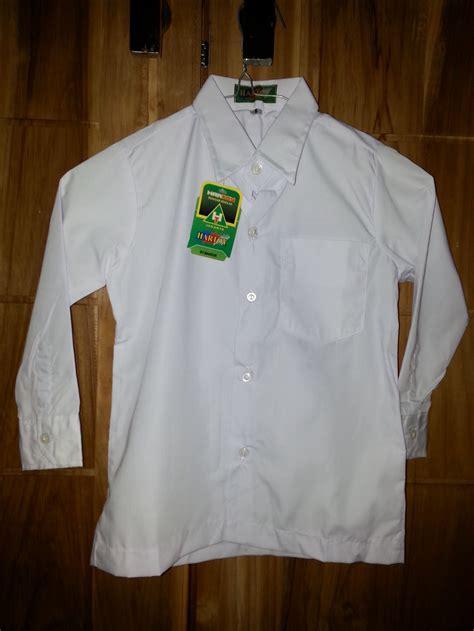 Kemeja Seragam Sekolah Jual No 3 Grosir Kemeja Baju Seragam Sekolah Sd Panjang