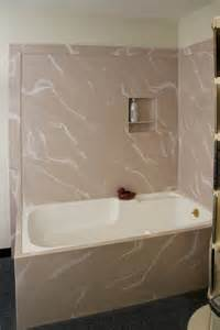 pictures of corian shower surrounds