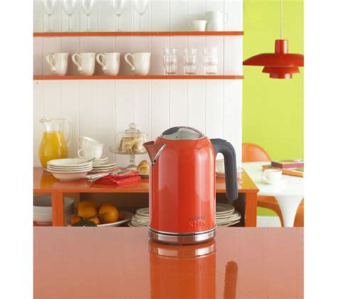 orange kitchen appliances kettles cheap kettles deals currys