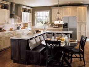Kitchen Island With Dining Table by Save Space And Combine Kitchen Island W Dining Table