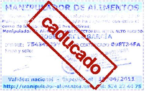 carnet manipulador de alimentos online blog curso carnet y certificado de manipulador de