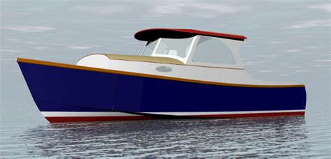 small displacement motor boat semi planing sailboat