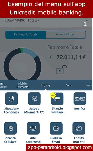 Banca Via Unicredit Privati by App Android App Banca Unicredit Mpin Cos 232