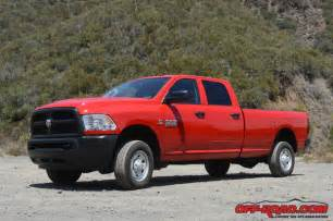 Dodge 2500 Tradesman 2015 Ram Tradesman 2500 Review Road