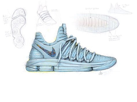 basketball shoes drawing nike officially unveils the kd10 weartesters