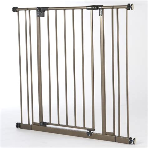 north states supergate easy swing and lock metal gate supergate v 22 62wx31h babitha baby world