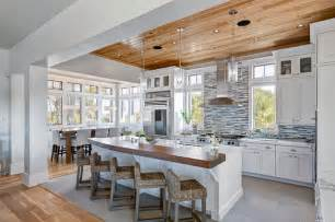 Houzz Kitchen Design by Ponte Vedra Residence Beach Style Kitchen
