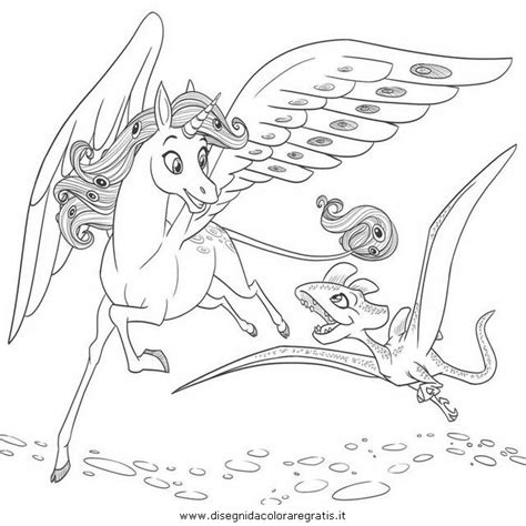 mia and me colouring pages page 2