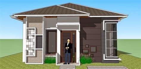 bentuk rumah sederhana tapi elegan gambar desain model rumah minimalis