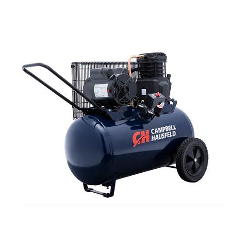 campbell hausfeld  gal electric air compressor vt