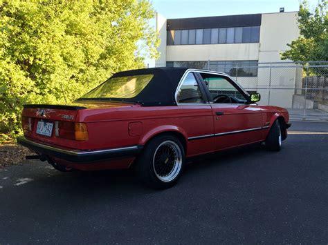 1985 Bmw 318i by Baurspotting 1985 Bmw E30 318i Tc Baur Manual For Sale In