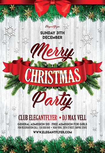 Free Christmas Flyer Templates In Psd By Elegantflyer Tree Lighting Flyer Template