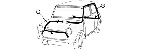 classic mini wiring diagram omc boat wiring diagrams