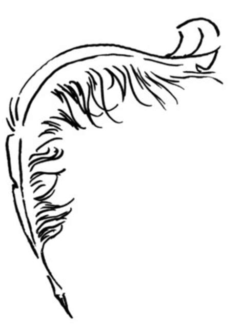 tattoo outline pen quill free images at clker com vector clip art online
